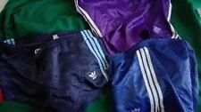 Pantaloncino adidas nylon sprinter Shiny Shorts glanz pants vintage D6 stock 3