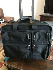 Tumi Alpha Wheeled Deluxe Brief With Computer Insert