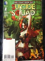 SUICIDE SQUAD 1 DC Comics Free Comic Book Day 2016 NM Harley Quinn, Deadshot