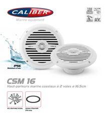 Haut parleurs Marine Étanche 16,5cm 2 Voies Coaxiaux 120 Watts Caliber CSM16
