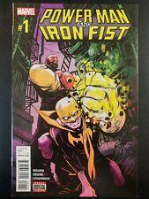 POWER MAN and IRON FIST #1 (2016 MARVEL Comics) VF/NM Comic Book