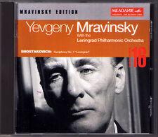 Evgeny MRAVINSKY: SHOSTAKOVICH Symphony No.7 Leningrad Schostakowitsch CD 1953