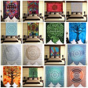 Indian Mandala Bedding Bedspread Hippie Twin Size Wholesales Lot 10 Pcs Throw