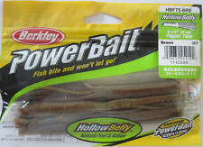 "Berkley PowerBait 5"" Hollow Belly Flippin' Tube (3/bag) - Breen - Clearance!"