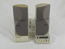 Altec Lansing ADA885 THX Computer Sound System 4 Speakers Base