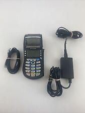 Hypercom Optimum T4210 Credit Card Processing Terminal Machine Black w/ Ac Cord