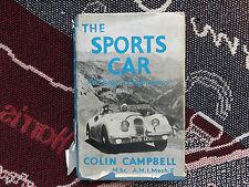 L'auto sportiva: il suo design e le prestazioni-Colin Campbell - 1955 HB DJ LIBRO