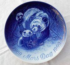 Bing & Grondahl Mothers Day 1969-1999 Jubilee Mors Dag Plate  Panda  Denmark DK
