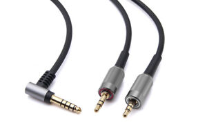4.4mm BALANCED Audio Cable For SONY MDR-Z7 Z7M2 MDR-Z1R headphones -Black 6FT
