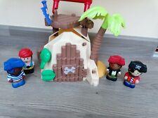Happyland Pirate Island Bundle And Figures