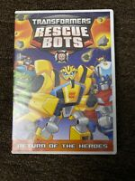 Transformers: Rescue Bots - Return of the Heroes (DVD, 2015)