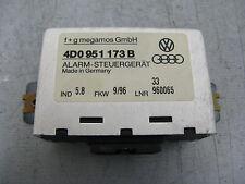 Audi A4 B5 A8  Alarmsteuergerät Steuergerät für Bewegungsmelder  4D0951173B