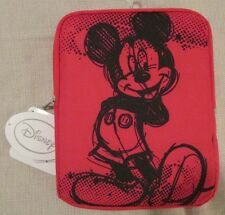 DISNEY MICKEY MOUSE Universal Tablet Cover Case - Red - NEW NWT