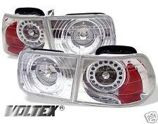 1996-2000 HONDA CIVIC 2DR LED TAIL LIGHT BAR LIGHTBAR LAMP CHROME
