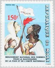 MALI 1992 1145 578 National Women´s Movement MNFPUN Frauenbewegung Frauen MNH