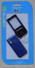 Reemplazo Purple/black Fascia & cubierta de batería para Nokia 5610 Xpressmusic