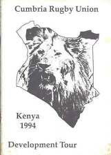 CUMBRIA DEVELOPMENT TOUR OF KENYA 1994 ENGLAND RUGBY BOOKLET