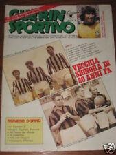 GUERIN SPORTIVO 1979/32-33 ROMA MILAN INSERTO POSTER