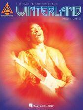 Jimi Hendrix Winterland Highlights Sheet Music Guitar Tablature Book N 000691332