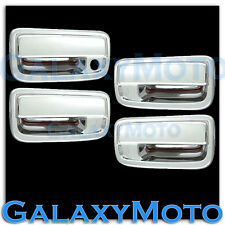 99-02 Toyota 4 Runner Triple Chrome plated 4 Door handle no PSG Keyhole cover