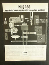 12/1967 PUB HUGHES AIRCRAFT COMPANY ELECTRONICS CIRCUITRY CONNECTING DEVICES AD