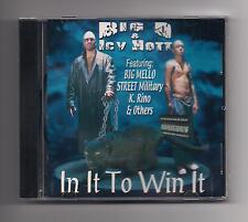 BIG D & ICY HOTT - In it to win it CD SEALED rare 2000 Houston Texas K. Rino