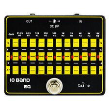 Caline CP-24 Ecualizador de 10 Bandas De Eq Pedal