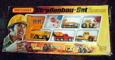 "Matchbox Giftset G-5 ""Strassenbau Set"" Deutschland 1979"