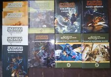 Castles and Crusades Book Lot