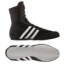 Adidas Box Hog 2 Boxing Boots Adult Boxing Shoes Kids Black Boxing Training Boot