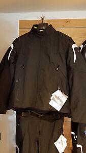 BMW Mottorad Tourshell Jacket - Mens - Black/Yellow - Pants Sold Separately