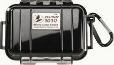 NEW Pelican 1010 Solid Black Micro Case includes Free engraved nameplate