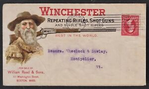 1901 AD CVR FOR WINCHESTER REPEATING RIFLES & SHOTGUNS. READ & SON'S, BOSTON, MA