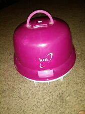 Ion 1875-watt Hard Bonnet Dryer withIonic Conditioning EGG Pink preowned