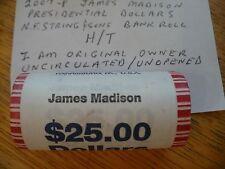 2007-P JAMES MADISON-UNCIRC/UNOPEND ROLL PRES DLLR-N.F. STRING-I'M ORIG OWNER