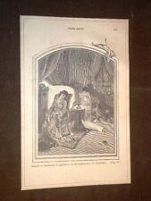 """Illustrazione Teresa Raquin di Émile Zola """"Tesera e Lorenzo nei seggioloni..."""""""