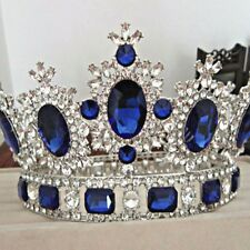 Women Girls Royal Princess Tiaras Hair Wedding Bridal Crystal Rhinestone Crown