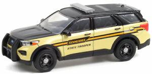 GREENLIGHT 1:64 TENNESSEE STATE TROOPER 2020 FORD POLICE INTERCEPTOR [PRESALE]