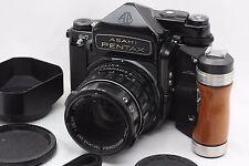 """NearMINT"" Pentax 6x7 67 MLU TTL w/ 90mm f/2.8 Lens Shutter From Japan #1994"
