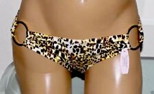 $42 NWT VICTORIA'S SECRET Swim Very Sexy Ring Cheetah Hipkini Bikini Bottom XS