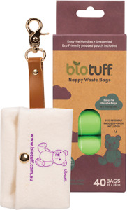 BIOTUFF Nappy Waste Bags & Dispenser
