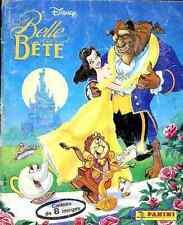ALBUM FIGURINE PANINI Complet DISNEY BELLE BETE stickers vignette Beauty beast