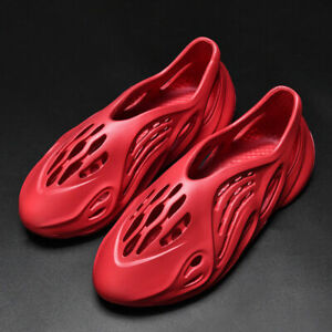 HOT Couples Outdoor Sandals Hole Shoes Casual Beach Slipper Summer Kanye US5-13
