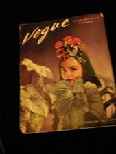 ~VOGUE Magazine~~March 1, 1941~New York's Spring Collections~