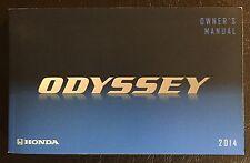 2014 Honda Odyssey Owner's Manual