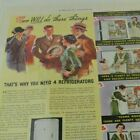 Kelvinator 4 Refrigerator In 1 Appliance Consumer Product Print Ad Full Page C15 photo