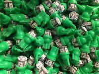 (6)GREEN 8V-LED WEDGE/KR-6400/KR-7400/KR-5400/DIAL/FREE 8V WIRE !Kenwood/KR-3200