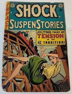1954 EC Comics SHOCK SUSPENSTORIES #13 ~ just the front cover