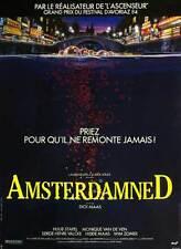 AMSTERDAMNED Movie POSTER 11x17 French Monique Van De Ven Huub Stapel Hidde Maas