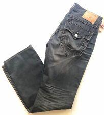 NWT $229 True Religion Men`s Gray Jeans Size 34 US